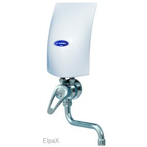 Ohrievač elek.prietokový beztlakový PM155 HAKL + drezová batéria páková