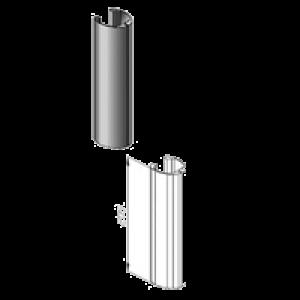 Krytka nosného profilu na stojanovú konzolu Standfix