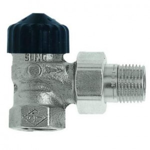 """Ventil termostatický rohový Standard 1"""" Heimeier"""
