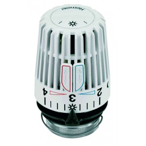 Hlavica termostatická  Heimeier K biela (Štandardná pre verejné priestory)