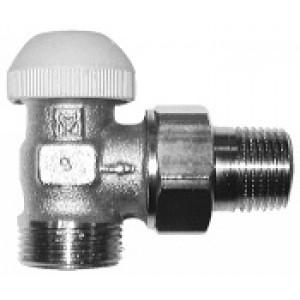 """Ventil termostatický rohový 1/2"""" Herz TS-90 vonkajší závit"""