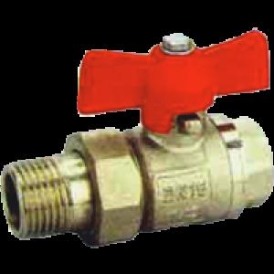"""Guľový kohút voda MF 1"""" s polšrubením Slovarm KE-280"""